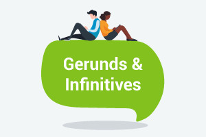 Inglese - Certo Gerunds e Infinitives (superiore - livello intermedio)