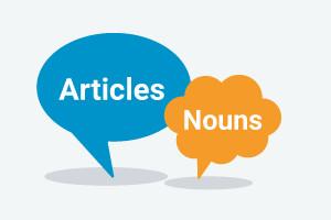 Gramática inglesa-Artículos & Nouns (nivel intermedio)