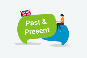 English Course - Past and Present (Upper-Intermediate Level)