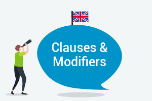 English Course - Clauses and Modifiers (Upper-Intermediate Level)