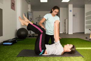 Treatment and Movement of a Patient in Physical Therapy