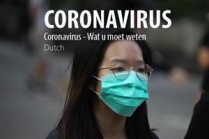 Coronavirus - Wat u moet weten