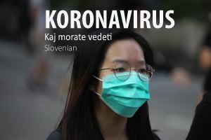 Koronavirus - Kaj morate vedeti