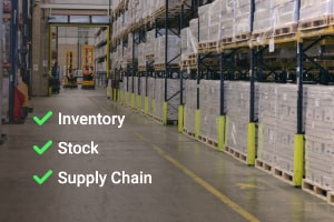 Warehouse Management: Inventory, Stock and Supply Chains