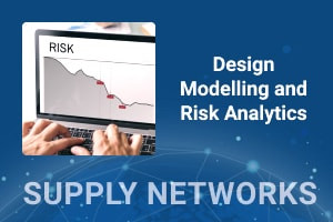 Design Modelling and Risk Analytics in the Supply Chain Network