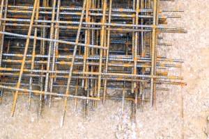 Structures en béton: corrosion du métal intégré et renforcement