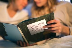 Fábulas De Aesop-Histórias Morais para Adultos e Crianças