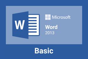 Microsoft Word 2013-Base