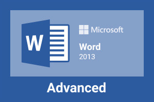 Microsoft Word 2013-Advanced