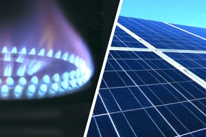 Natural Gas and Solar Energy