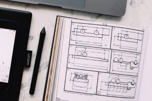Diploma in Orthographic Projections in Engineering Graphics and Design