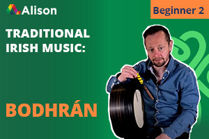Traditional Irish Bodhrán | Beginner 2