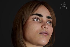 Zbrush -Sculpturing a Female Head