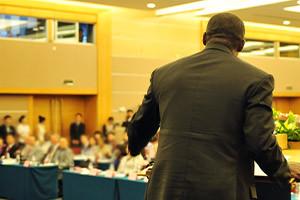 Public Speaking on Panels