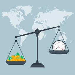 La oferta y la demanda agregada