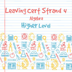 Strand 4 Higher Level Algebra