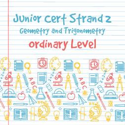 Junior Certificate Strand 2-Nivel Ordinario de geometría y trigonometría