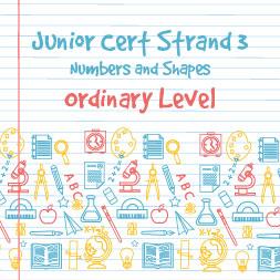 Junior Certificado Strand 3-Nível Comum-Números e Formas