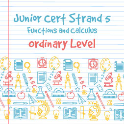Junior Certificate Strand 5 - Ordinary Level - Functions and Calculus