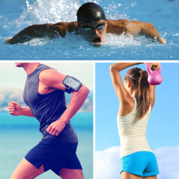 Health and Fitness - Running Tips, Swimming and Strength Training