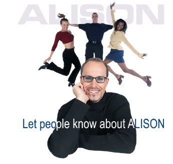 Let People know About ALISON