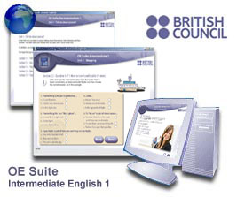 British Council Online English Suite - Intermediate 1