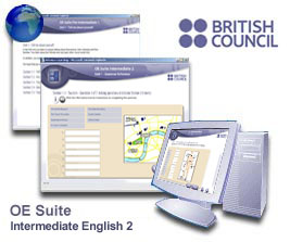 British Council Online English Suite - Intermediate 2