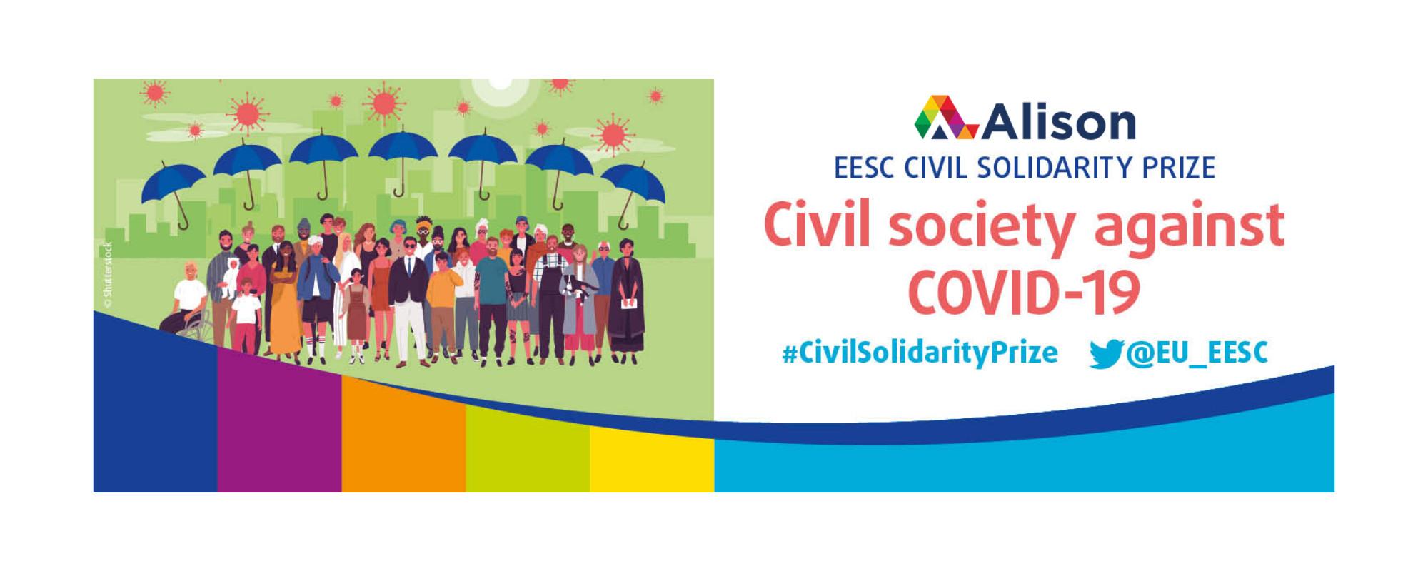 Alison Wins EU Civil Solidarity Prize