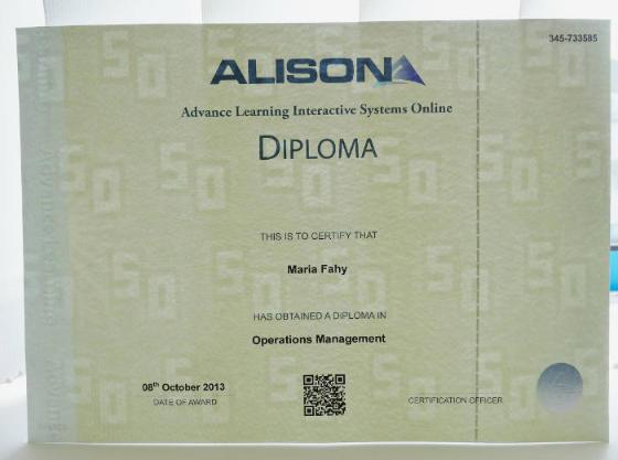 ALISON Diploma